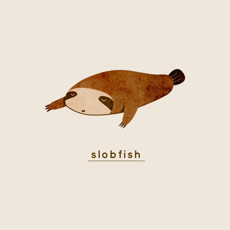 Slobfish Men's Tank by agrimony // Aaron Thong