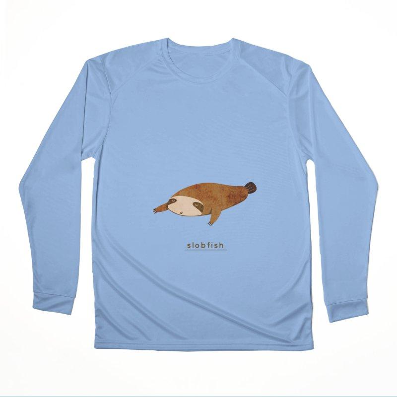 Slobfish Men's Longsleeve T-Shirt by agrimony // Aaron Thong