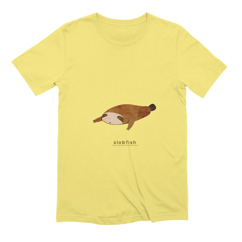 Slobfish Men's T-Shirt by agrimony // Aaron Thong