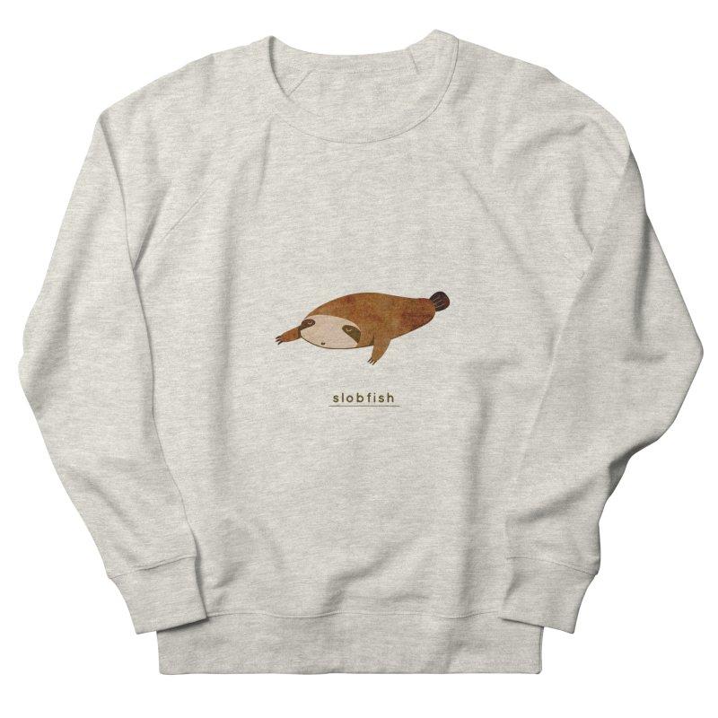 Slobfish Women's Sweatshirt by agrimony // Aaron Thong