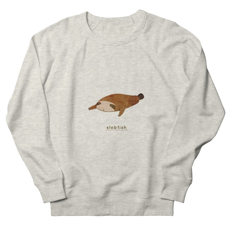 Slobfish Men's Sweatshirt by agrimony // Aaron Thong