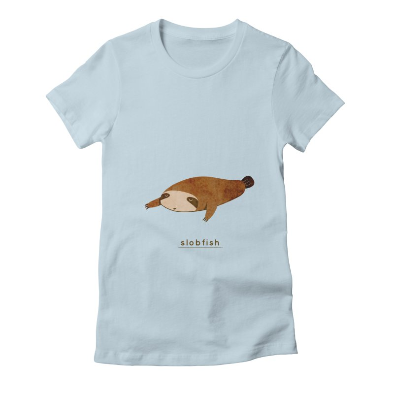 Slobfish Women's T-Shirt by agrimony // Aaron Thong