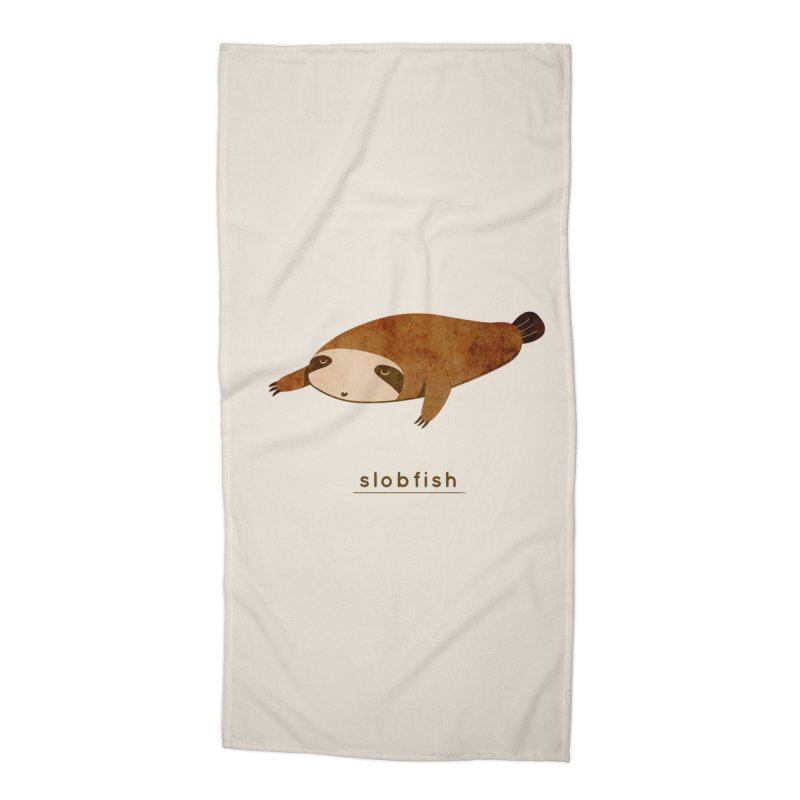 Slobfish Accessories Beach Towel by agrimony // Aaron Thong
