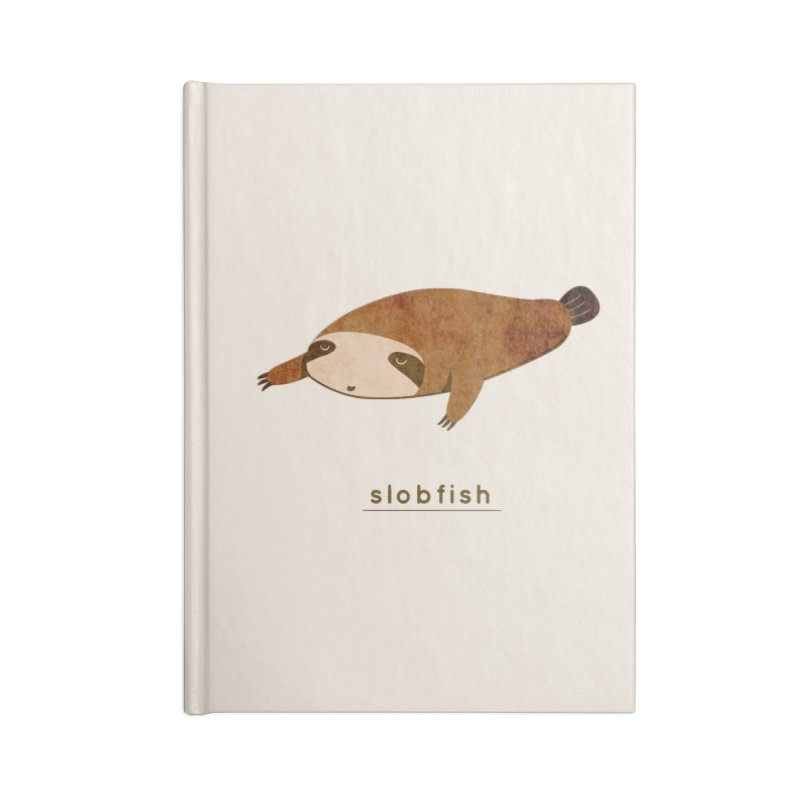 Slobfish Accessories Notebook by agrimony // Aaron Thong