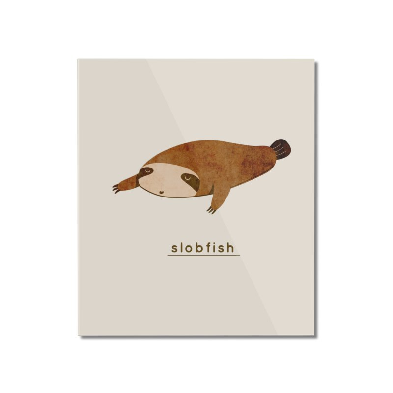 Slobfish Home Mounted Acrylic Print by agrimony // Aaron Thong