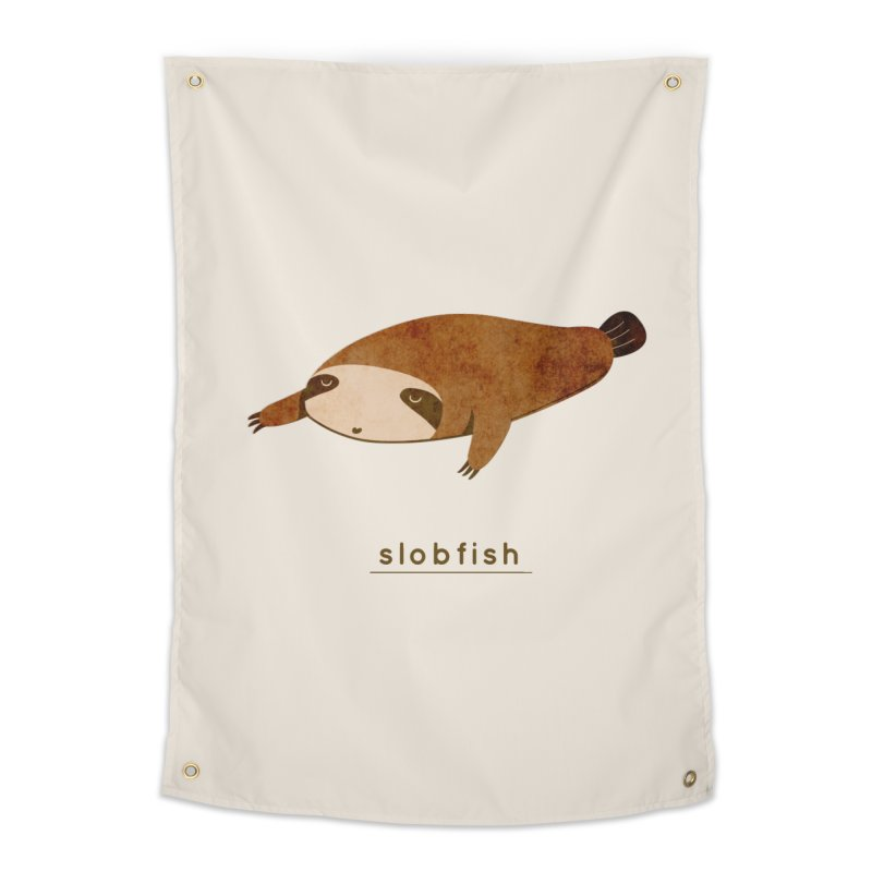 Slobfish Home Tapestry by agrimony // Aaron Thong