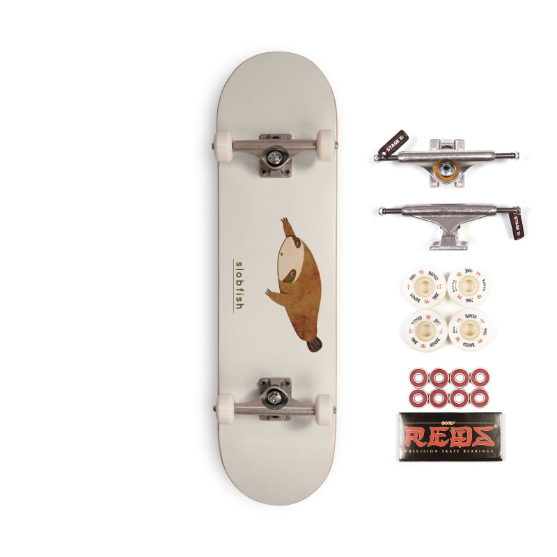 Slobfish Accessories Skateboard by agrimony // Aaron Thong