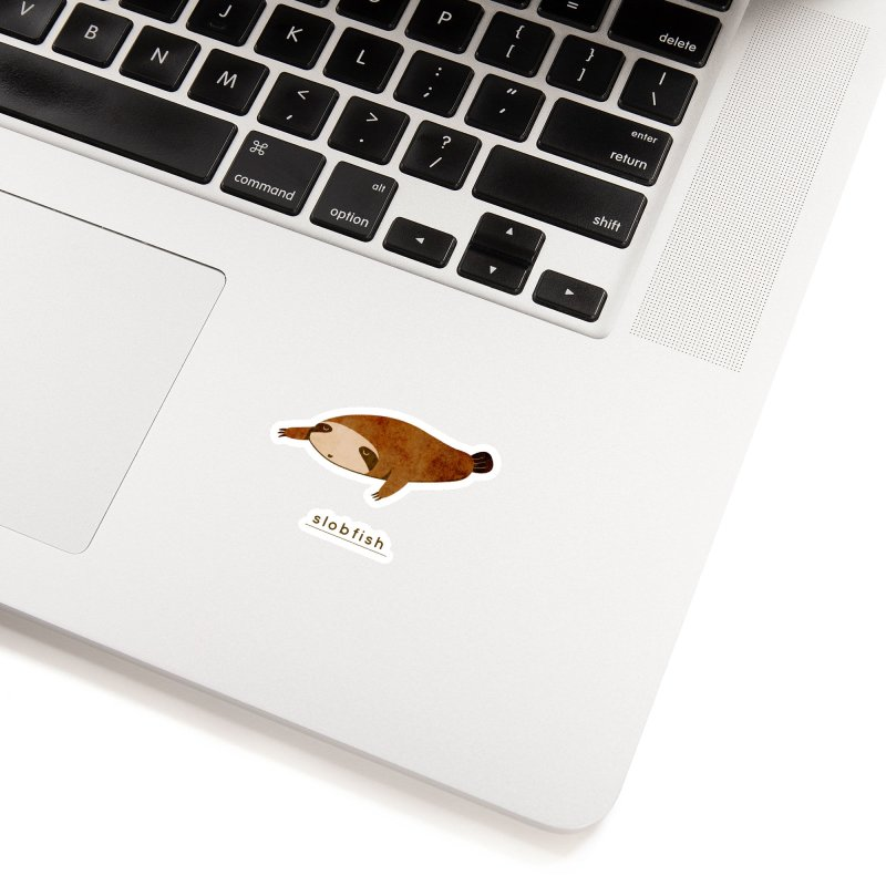 Slobfish Accessories Sticker by agrimony // Aaron Thong