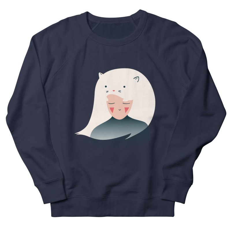 Cat in the Hairt Men's Sweatshirt by agrimony // Aaron Thong