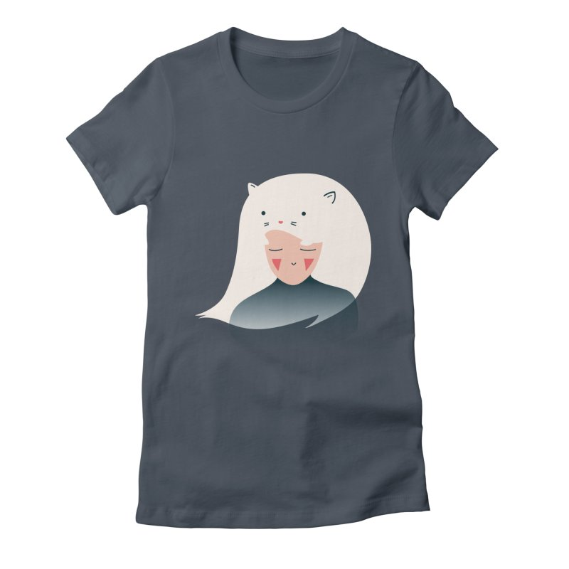 Cat in the Hairt Women's T-Shirt by agrimony // Aaron Thong
