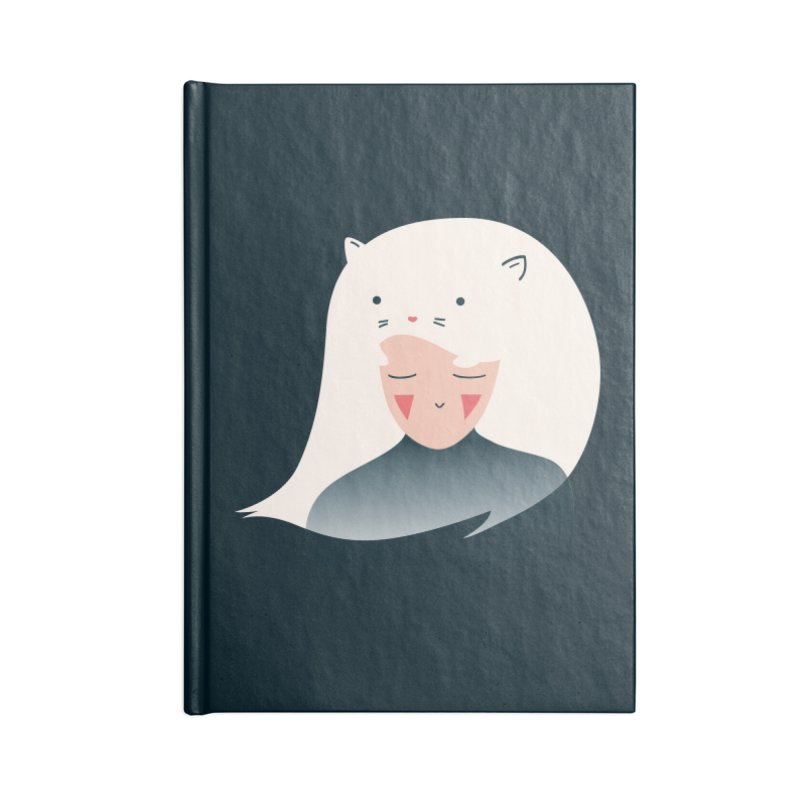 Cat in the Hairt Accessories Notebook by agrimony // Aaron Thong