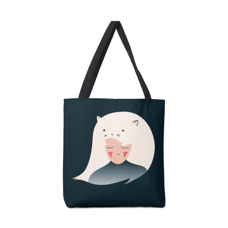 Cat in the Hairt Accessories Bag by agrimony // Aaron Thong