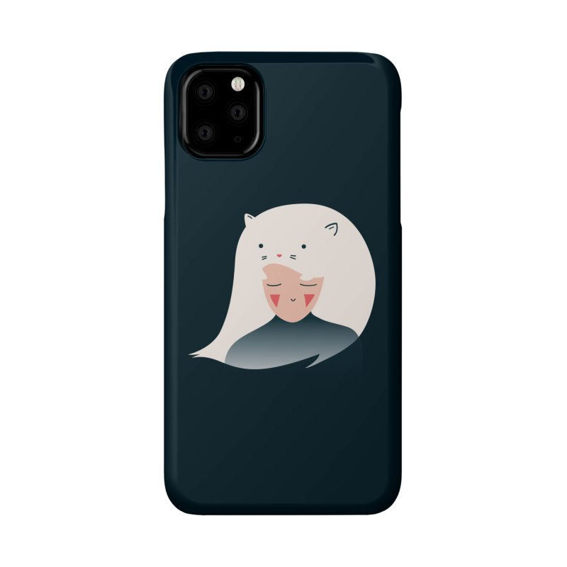 Cat in the Hairt Accessories Phone Case by agrimony // Aaron Thong