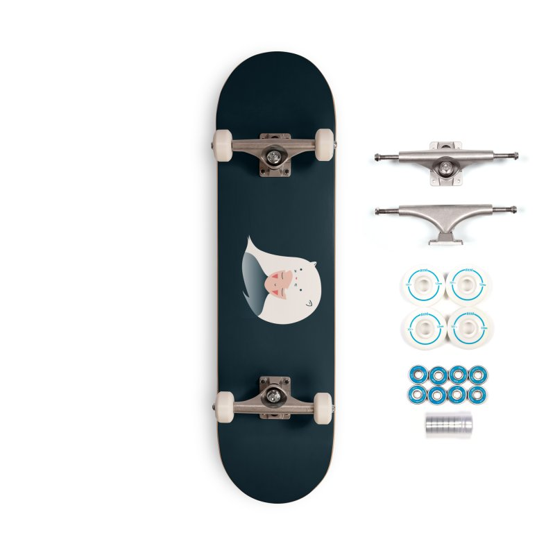 Cat in the Hairt Accessories Skateboard by agrimony // Aaron Thong