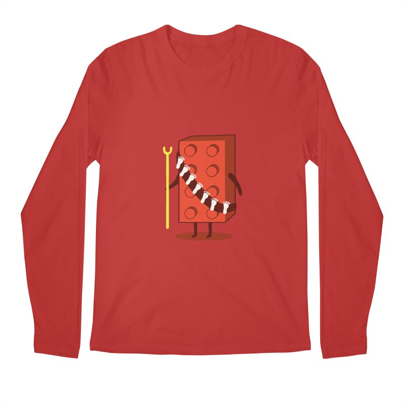 Foothunter Men's Longsleeve T-Shirt by agrimony // Aaron Thong