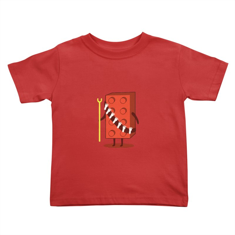 Foothunter Kids Toddler T-Shirt by agrimony // Aaron Thong