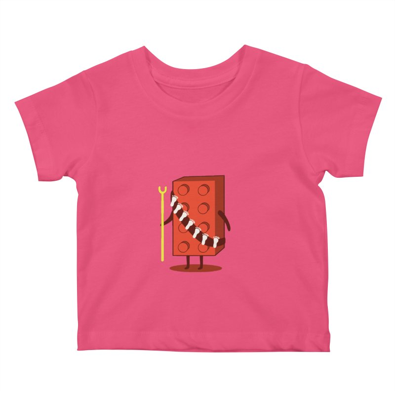 Foothunter Kids Baby T-Shirt by agrimony // Aaron Thong