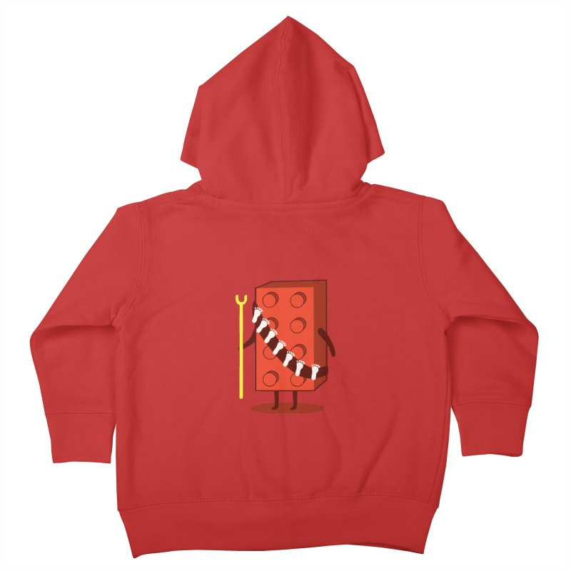 Foothunter Kids Toddler Zip-Up Hoody by agrimony // Aaron Thong