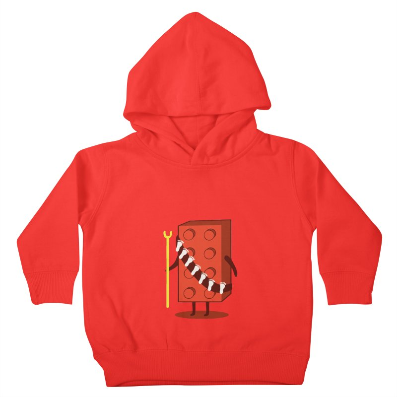 Foothunter Kids Toddler Pullover Hoody by agrimony // Aaron Thong