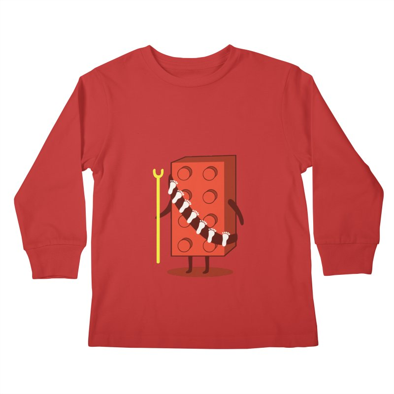 Foothunter Kids Longsleeve T-Shirt by agrimony // Aaron Thong