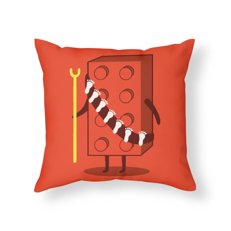 Foothunter Home Throw Pillow by agrimony // Aaron Thong