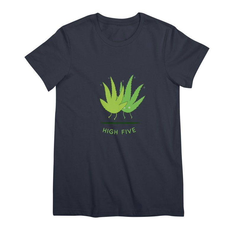 High Five Women's T-Shirt by agrimony // Aaron Thong