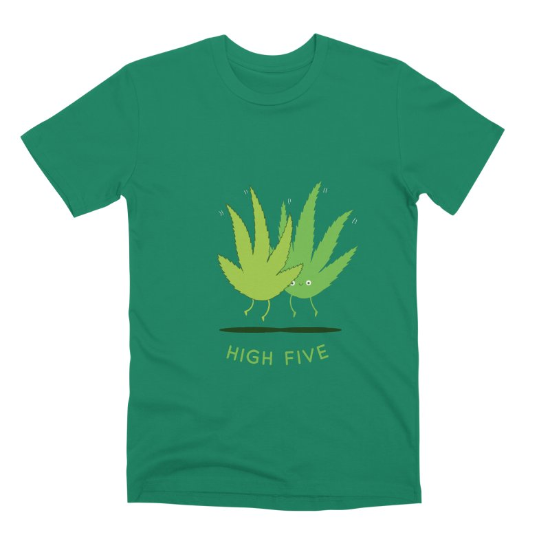 High Five Men's T-Shirt by agrimony // Aaron Thong