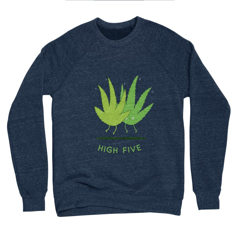 High Five Men's Sweatshirt by agrimony // Aaron Thong