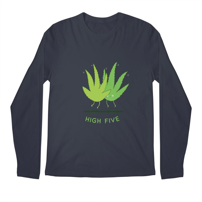 High Five Men's Longsleeve T-Shirt by agrimony // Aaron Thong