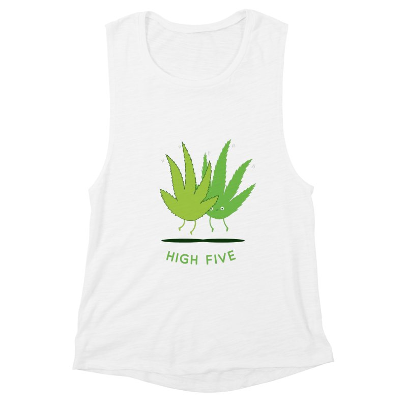 High Five Women's Tank by agrimony // Aaron Thong