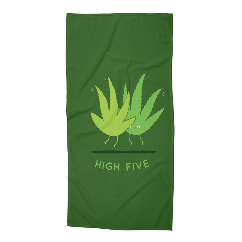 High Five Accessories Beach Towel by agrimony // Aaron Thong
