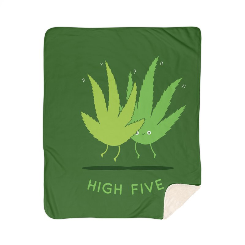 High Five Home Blanket by agrimony // Aaron Thong