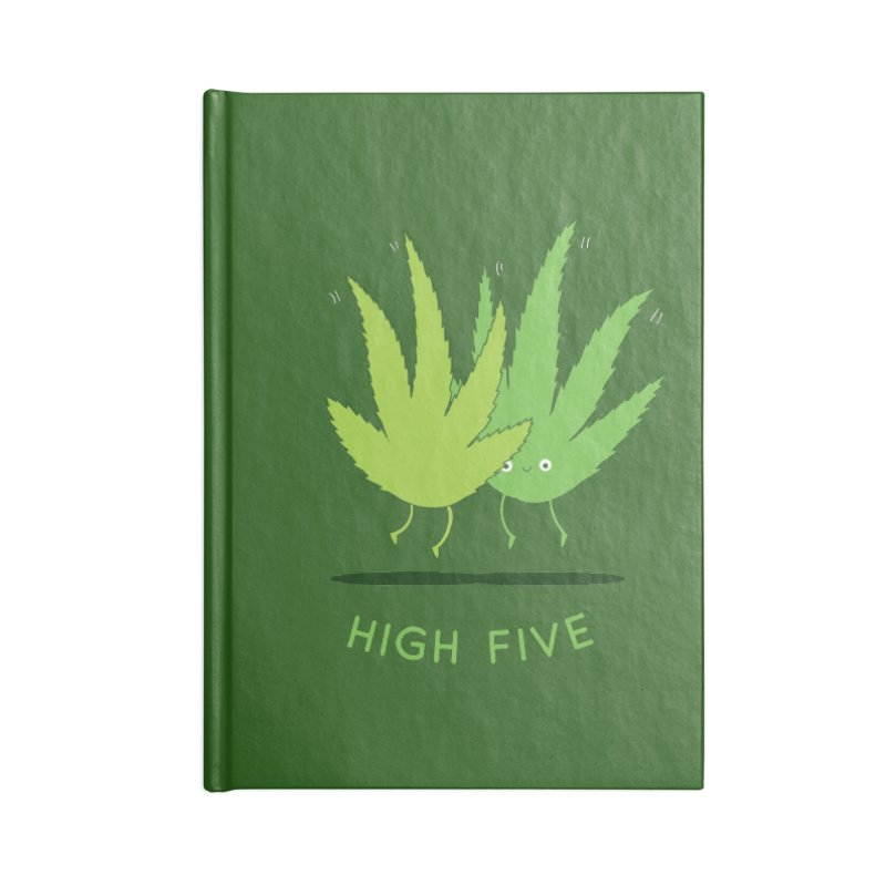 High Five Accessories Notebook by agrimony // Aaron Thong