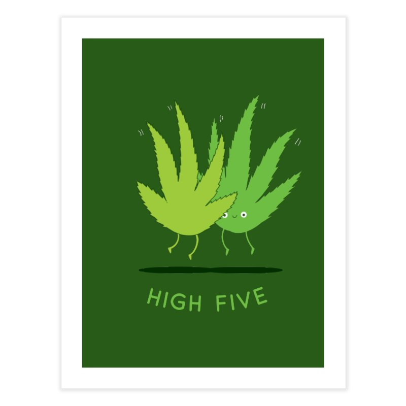 High Five Home Fine Art Print by agrimony // Aaron Thong