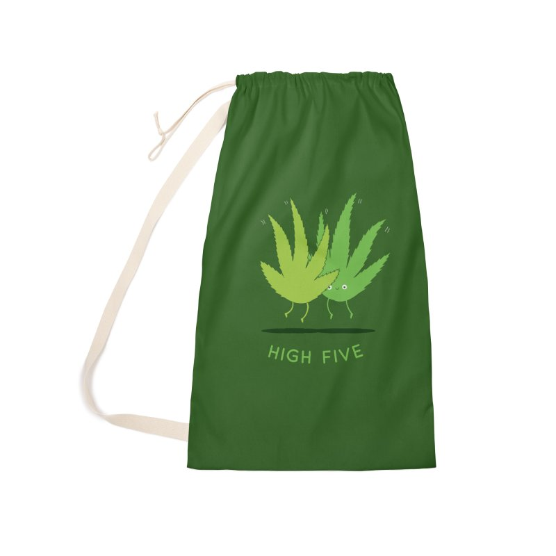 High Five Accessories Bag by agrimony // Aaron Thong