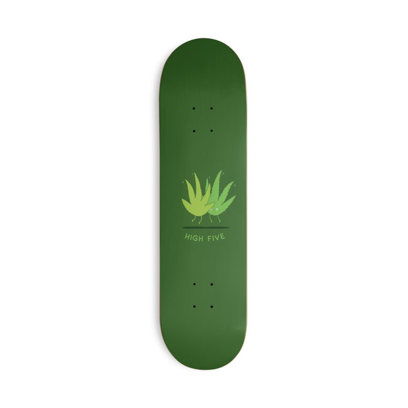 High Five Accessories Skateboard by agrimony // Aaron Thong