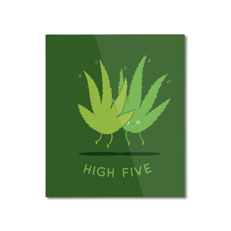 High Five Home Mounted Aluminum Print by agrimony // Aaron Thong