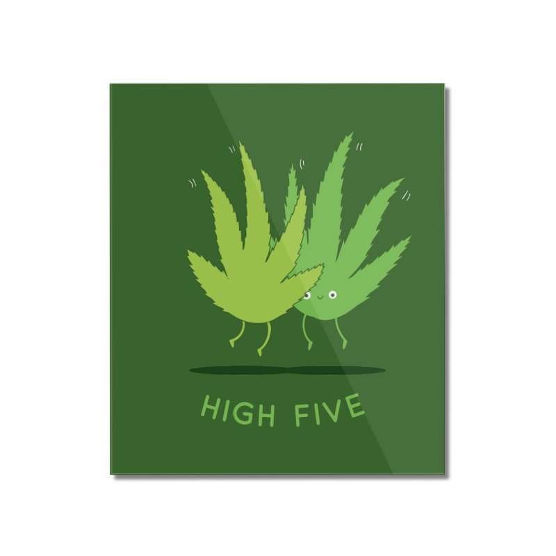 High Five Home Mounted Acrylic Print by agrimony // Aaron Thong
