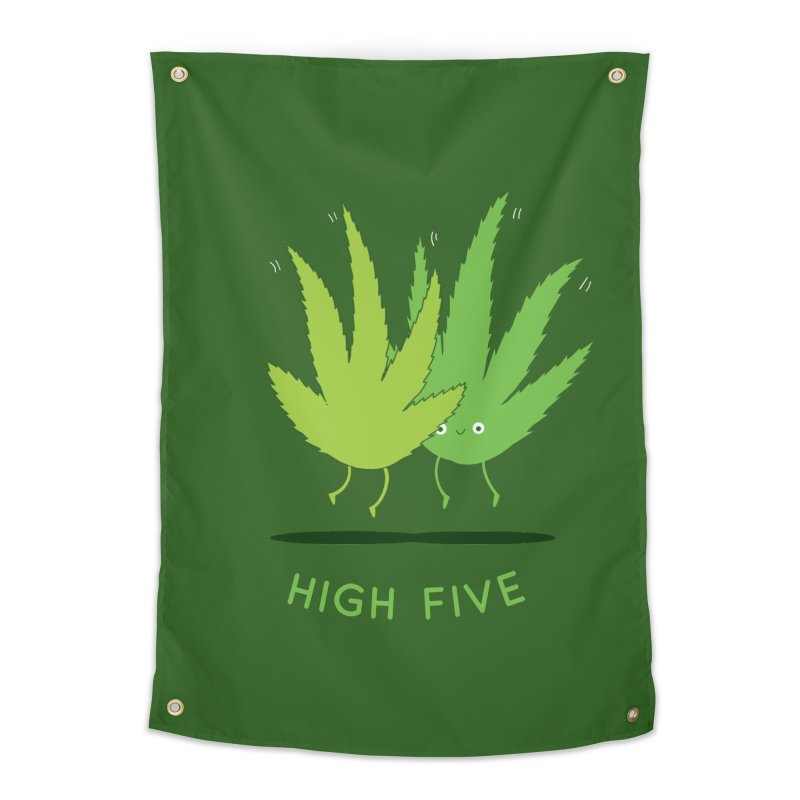 High Five Home Tapestry by agrimony // Aaron Thong