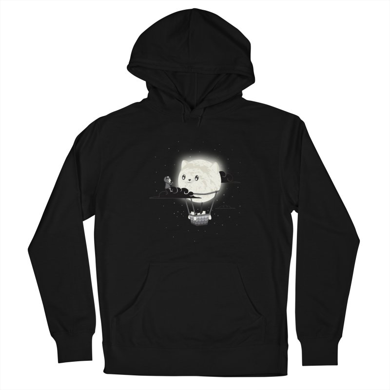 Did You See the Mewn in Flight Men's Pullover Hoody by agrimony // Aaron Thong