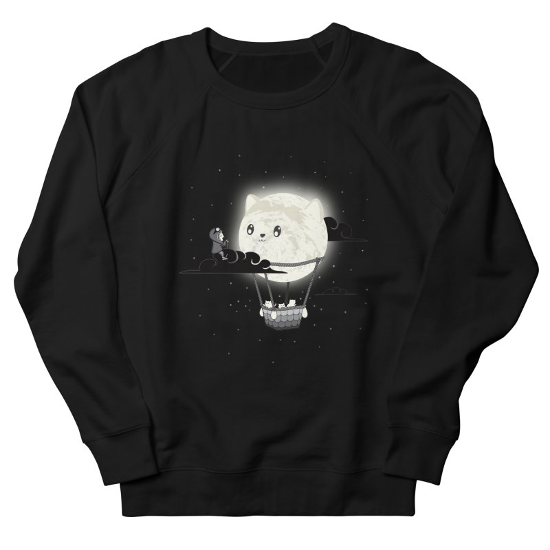 Did You See the Mewn in Flight Men's Sweatshirt by agrimony // Aaron Thong