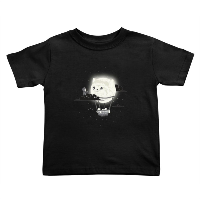 Did You See the Mewn in Flight Kids Toddler T-Shirt by agrimony // Aaron Thong