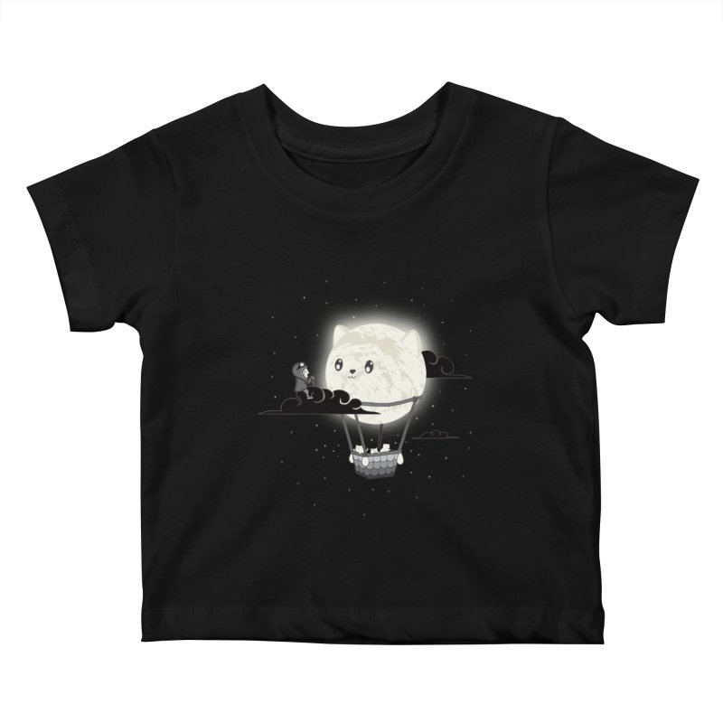Did You See the Mewn in Flight Kids Baby T-Shirt by agrimony // Aaron Thong