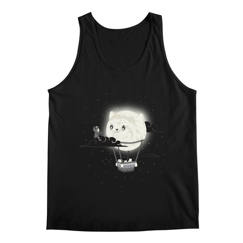 Did You See the Mewn in Flight Men's Tank by agrimony // Aaron Thong