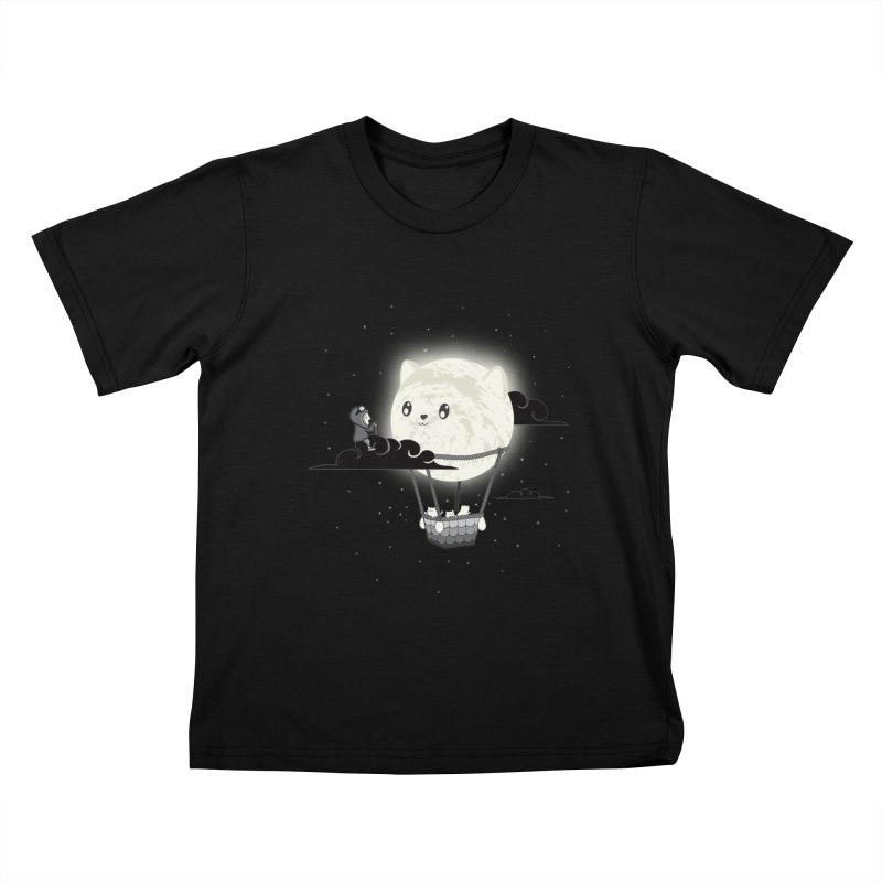 Did You See the Mewn in Flight Kids T-Shirt by agrimony // Aaron Thong