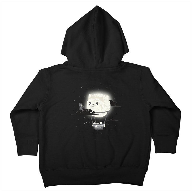 Did You See the Mewn in Flight Kids Toddler Zip-Up Hoody by agrimony // Aaron Thong
