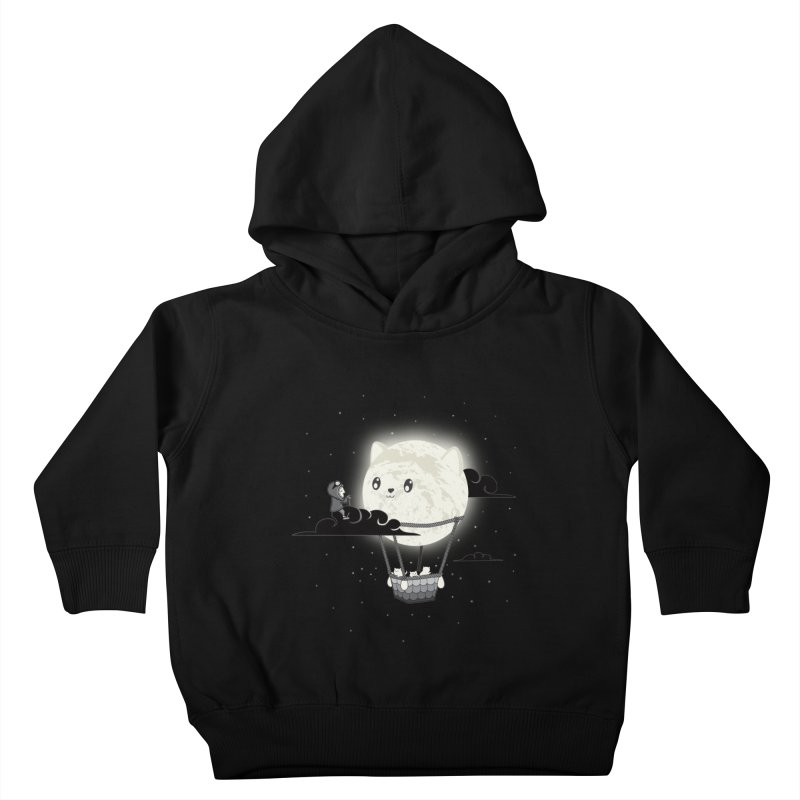 Did You See the Mewn in Flight Kids Toddler Pullover Hoody by agrimony // Aaron Thong