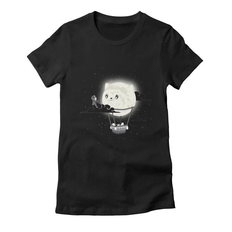 Did You See the Mewn in Flight Women's T-Shirt by agrimony // Aaron Thong