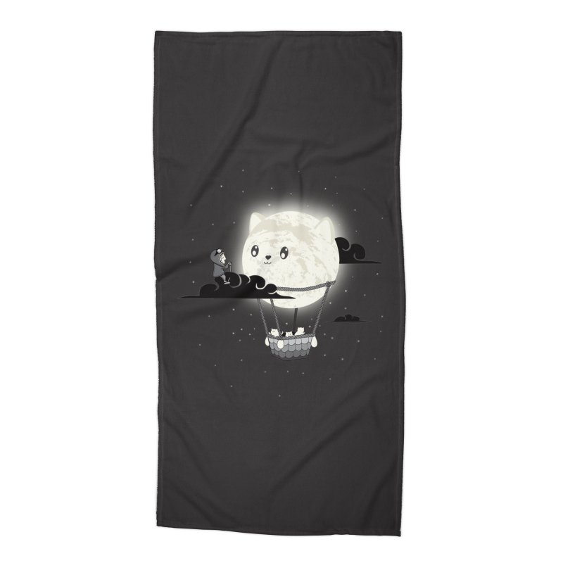 Did You See the Mewn in Flight Accessories Beach Towel by agrimony // Aaron Thong
