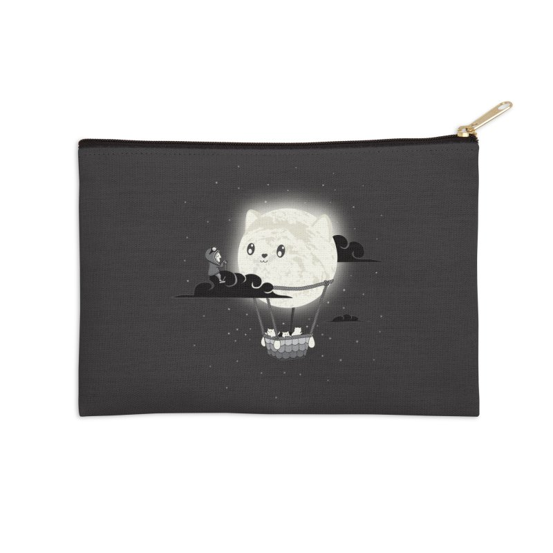 Did You See the Mewn in Flight Accessories Zip Pouch by agrimony // Aaron Thong